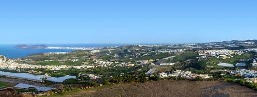 "Views from the ""La Montaña de Arucas"" Viewpoint"