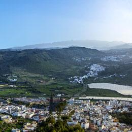 Vista desde el Mirador de la Montaña de Arucas